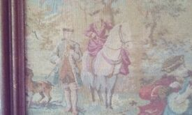 Old French tapestry.