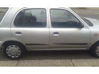 micra 5 doors GX 998cc, manual