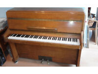 Piano for sale in full working order, solid wood, no longer used - 'children' have left home!
