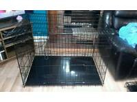 Extra large 2 door dog crate