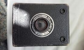 Vintage Black and white 'Modern No2 Camera, 3 ¼ '' * 2 ¼ ''.