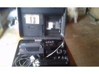 Panasonic vhs camcoder and tripod pickup rutherglen