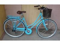 Brand new factory return ladies Dutch city bike. Brand new out the box.