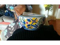Poole pottery bowl