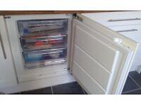 Zanussi ZQF11432DA Integrated Under Counter Freezer