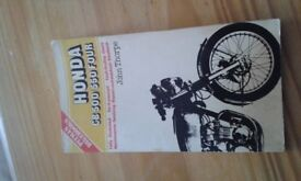 Honda cb 500/550 four repair manual