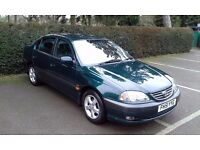 toyota avensis gls perfect condition in/out like new!!!!!full service 3 keys