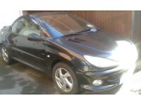 Peugeot 206CC, 2005 plate, £1,150 Ono, good condition