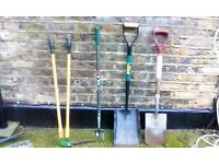 Mixed Garden Tools