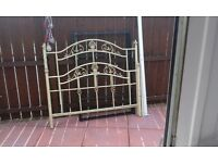 metal double bed base