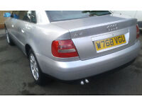 Audi A4 w reg TDI with full service history with tax and mot for sale
