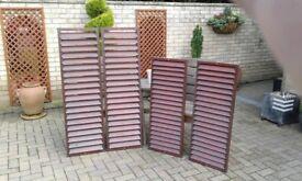 Decorative external shutters