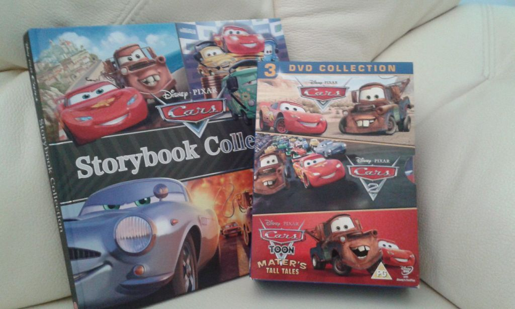 Immaculate Disney Cars 3 Dvd Collection Storybook Amp Toy