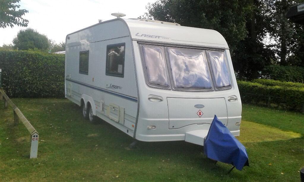 Coachman Laser 2000 590 4 Twin Axle Touring Caravan