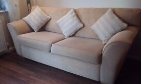 3 Seater Sofa, Top Quality from Allders with Cushions
