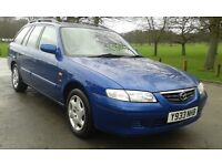 MAZDA 626 GXi ESTATE 1 LADY OWNER FROM NEW FULL STAMPED SERVICE HISTORY