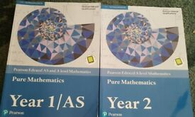 Pearson Edexcel Pure Mathematics A Level - Year 1 & 2 COLLECTION ONLY FROM CHATHAM