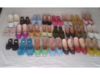 1100 pairs of shoes for sale as a joblot