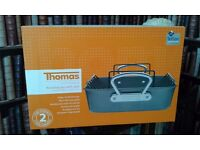 Thomas by Rosenthal roasting pan with rack 42x27cm. Fenwicks sell these for £50.