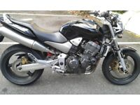 Honda Hornet CB 900 F 2008 (57 reg. plate) superb condition, service book with stamps