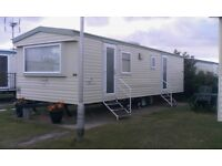 Static caravan for hire in towyn north Wales may bank holiday weekend