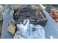 Large job lot of OO guage train track, hornby, triang peco