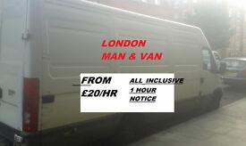 LOW COST MAN AND VAN