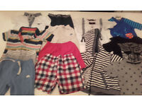 MASSIVE SELECTION OF BABY BOY CLOTHES 0 - 24 MONTHS,tops,shirts,shorts & jeans