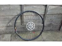 "front mountain bike wheel 26"" mavic xc 317 deore disk disc only"