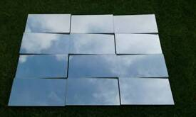 "Multi faceted mirror 43"" x 31.5"" Lovely condition"