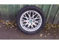 "bmw16"" alloy wheels and tyres"