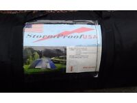 Used once a 6 man dome tent in very good condition