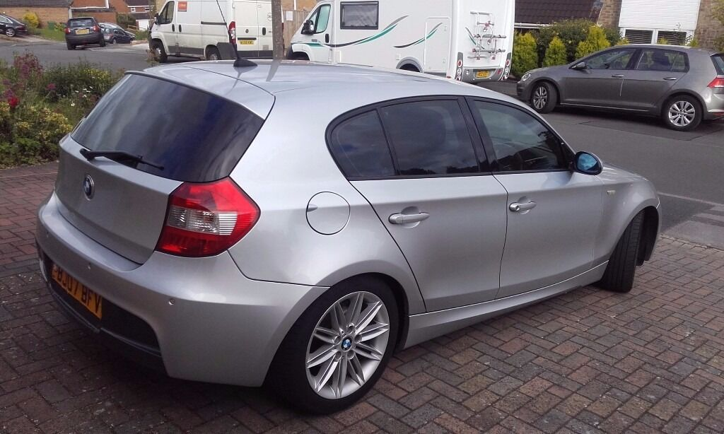 bmw 116i m sport silver 2007 in toothill wiltshire gumtree. Black Bedroom Furniture Sets. Home Design Ideas