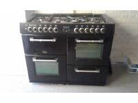 Duel fuel range cooker