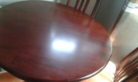 DINING TABLE SET FOR SALE PLUS FREE UPRIGHT PIANO