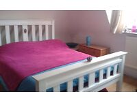 King size Wooden bed-with or without mattress-