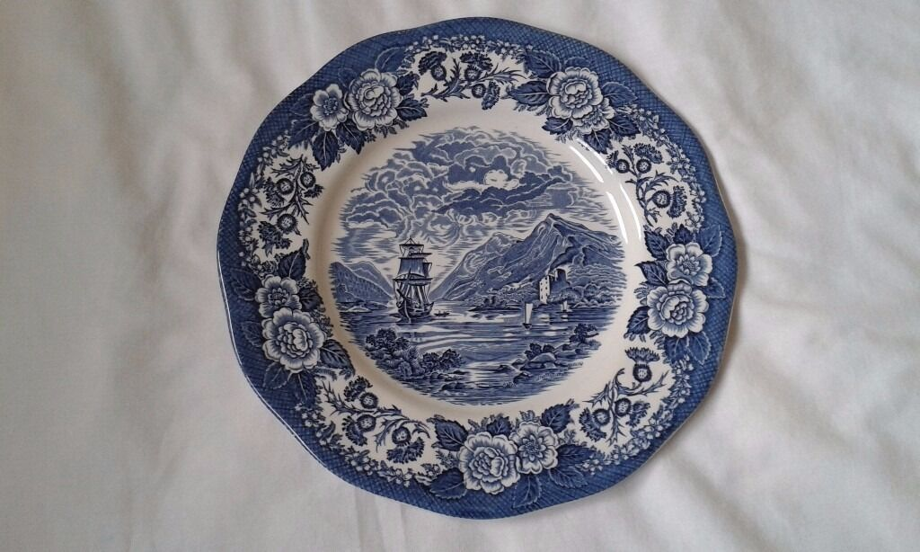 Enoch Wedgwood (Tunstall) Ltdin Telford, ShropshireGumtree - Lochs of Scotland Founded in 1835 Genuine hand engraving decorated under glaze Detergent and acid resisting colors Loch Oich 10 inches No Chips or marks In very good condition