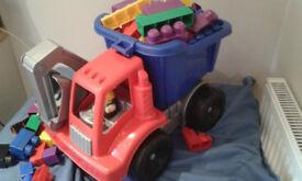 megablocks dumber truck