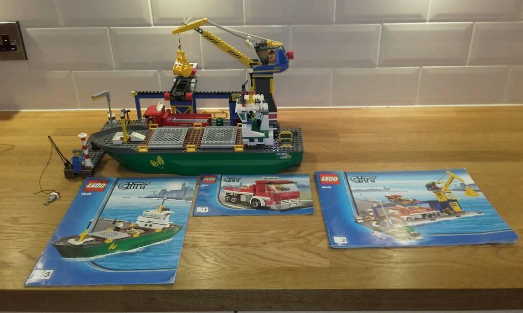 Lego city sets 4645