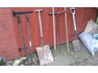 JOB LOT OF 6 GARDENING TOOLS FOR SALE. COULD DELIVER.