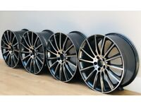 "Mercedes Benz MB14 AMG Style Wheels - 20"" Staggered Set"