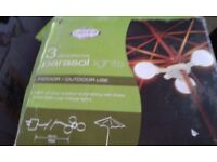 Brand New Parasol Lights