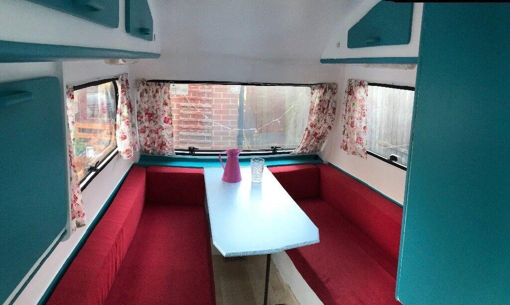 2 Berth vintage caravan