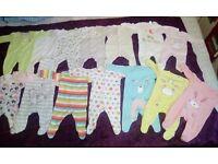 Baby girl bundle 0-3m