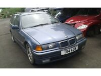 1999 BMW E36 3 Series e36 323 touring steel blue stahlblau BREAKING FOR SPARES