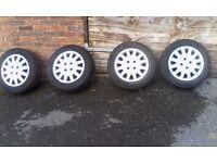ford 4 stud alloy wheels
