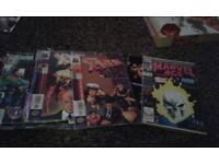 Marvel & DC comics