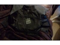 unisex jacket new with tags