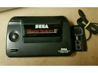 Sega Master System with 8 games