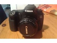 Canon 60D for sale with standard 18-55mm lens, 50mm lens, Canon battery charger and Lowepro bag